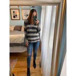 Michael Kors Black & White Sweater